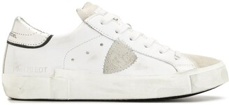 Philippe Model Paris Prsx Croco lace-up sneakers