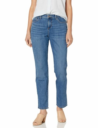 Lee Women's Petite Instantly Slims Classic Relaxed Fit Monroe Jean