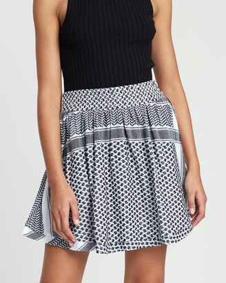 Cecilie Copenhagen Women's Black Mini skirts - Skirt - Size XS at The Iconic