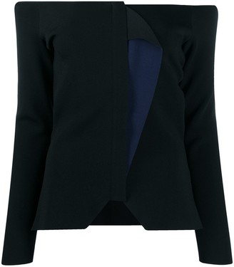 Roland Mouret Colour Block Blouse