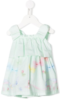 Lapin House Tiered Sleeveless Dress