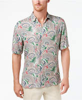 Tasso Elba Men's Tropical Paisley-Print Shirt, Created for Macy's