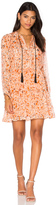 The Kooples Long Sleeve Tassel Dress