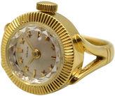 One Kings Lane Vintage 18K Gold Gubelin Ring Watch, C.1960