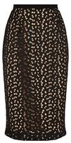 Max Mara Manila Sheer Lace Pencil Skirt