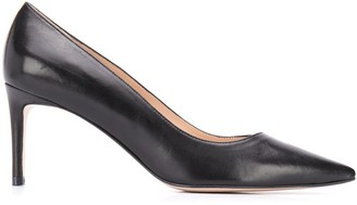 Stuart Weitzman Leigh leather pumps