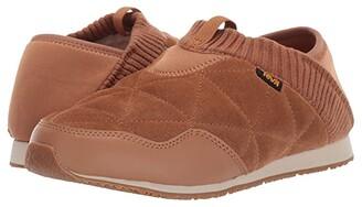Teva Ember Moc Shearling (Pecan) Women's Shoes