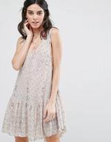 Free People Sat It With Layers Slip Dress