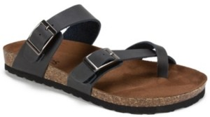 White Mountain Women's Gracie Footbed Sandals Women's Shoes