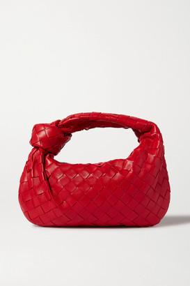Bottega Veneta Jodie Mini Knotted Intrecciato Textured-leather Tote - One size