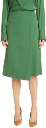 HUGO BOSS Valenno Wool Blend Skirt