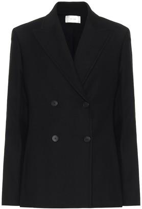 The Row Zori stretch cotton-blend jacket