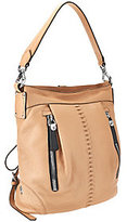 Oryany As Is Italian Leather Convertible Backpack -Marlene