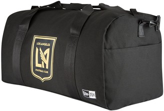 New Era Black LAFC Canvas Small Duffel Bag