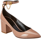 Valentino 70 Patent Ankle Strap Pump
