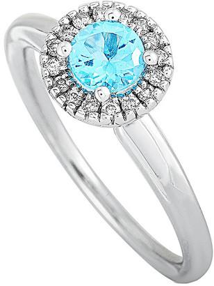 Generic Gemstones 14K 0.63 Ct. Tw. Diamond & Topaz Ring