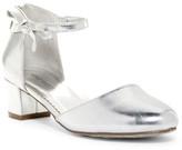 Nine West Pamela Heeled Ankle Strap Dress Shoe (Little Kid & Big Kid)
