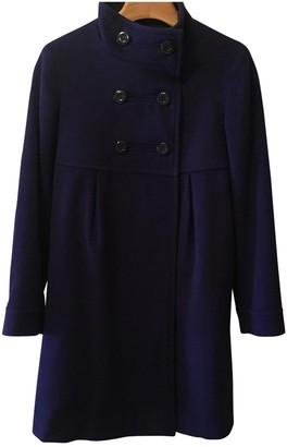Uniqlo Purple Wool Coat for Women