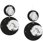 Maria Calderara circular earrings