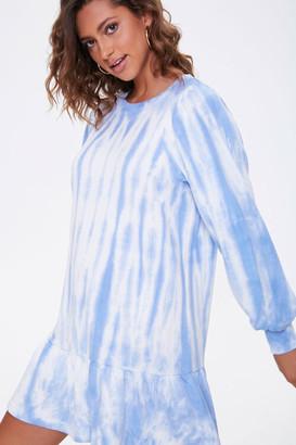 Forever 21 Tie-Dye Drop-Waist Dress