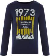 Timberland Boys Printed Long Sleeve T-Shirt