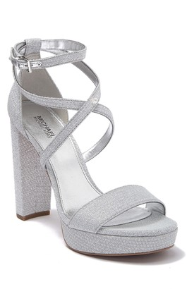 MICHAEL Michael Kors Charlize Strappy Platform Block Heel