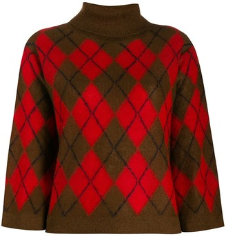 Paul Smith Argyle pattern jumper