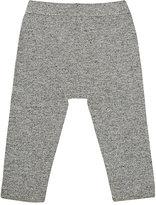 Grey Rabbit Baby Crocheted-Cuff Cashmere Pants-GREY
