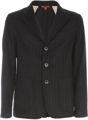Barena Striped Single Breasted Blazer