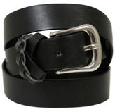 Yours Clothing Yoursclothing Plus Size Womens Jean Belt Silver Buckle 100% Synthetic Leather