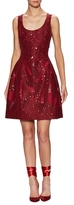 Prabal Gurung Silk Sequin Flared Dress