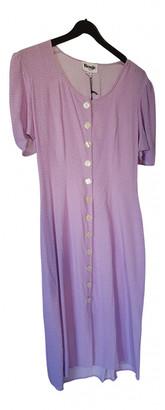 Rouje Spring Summer 2019 Purple Viscose Dresses