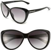 61mm Cat Eye Sunglasses