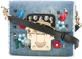 Dolce & Gabbana denim mini shoulder bag - women - Cotton/Leather - One Size
