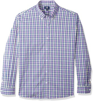 Cutter & Buck Men's Performance Stretch Long Sleeve Button Down Shirt