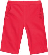 Jo-Jo JoJo Maman Bebe Twill Clamdigger Pants (Baby) - Strawberry-6-12 Months