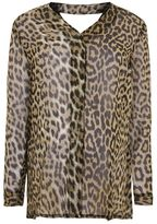 Topshop Maternity animal print blouse