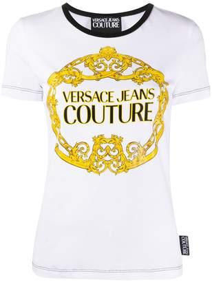 Versace Barocco logo-print T-shirt