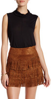 Cupcakes And Cashmere Cowl Neck Sleeveless Tank