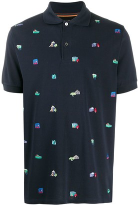 Paul Smith House Embroidery Polo Shirt