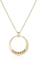 Sho London Silver Vermeil Pendant Necklace