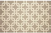 Liora Manné Trans Ocean Imports Spello Chains Geometric Indoor Outdoor Rug