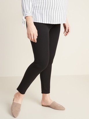 Old Navy Maternity Side-Panel Pixie Ankle Pants