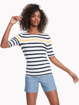 Tommy Hilfiger Essential Favorite Boatneck T-Shirt