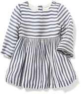Old Navy Striped Gauze Fit & Flare Dress for Baby