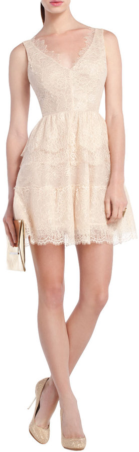 Thumbnail for your product : BCBGMAXAZRIA Willa Lace Cocktail Dress