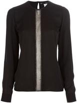 DSquared Dsquared2 embellished panel blouse