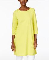 Eileen Fisher Organic Cotton-Blend Tunic