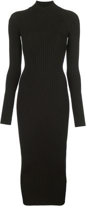 Dion Lee Ribbed Knit Dress