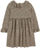 Bonpoint Leopard crepe dress